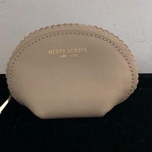 Henry Bendel Scalloped Mini Cosmetic Case NWOT